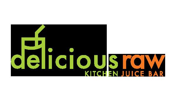 delicious raw logo